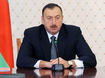 Распоряжение Президента Азербайджана о выделении Гусарскому району пяти миллионов манатов
