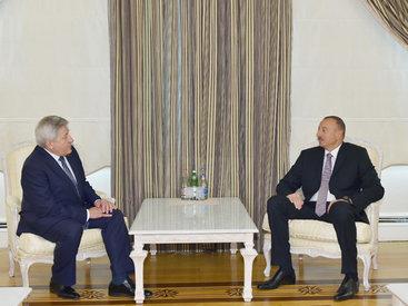 Президент Ильхам Алиев принял посла Беларуси - ФОТО