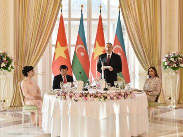 """Президент Ильхам Алиев: """"Характер азербайджано-вьетнамских отношений перешел в качественно новую плоскость"""" - ОБНОВЛЕНО - ФОТО - ВИДЕО"""