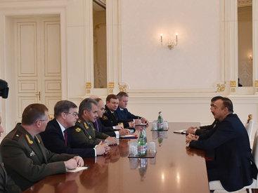 Президент Ильхам Алиев принял делегацию Компартии Вьетнама и министра обороны РФ - ОБНОВЛЕНО - ФОТО