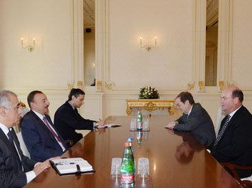 Президент Азербайджана принял главу компании ConocoPhillips - ОБНОВЛЕНО - ФОТО