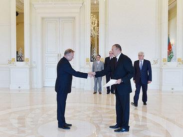 Президент Азербайджана принял верительные грамоты нового посла Беларуси - ФОТО - ВИДЕО