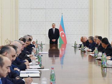 Президент Ильхам Алиев обозначил приоритеты для правительства на текущий год