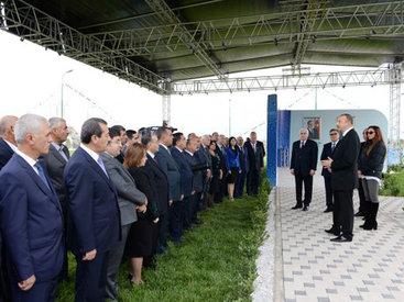 """Президент Ильхам Алиев: """"Азербайджан – остров стабильности, спокойствия и развития"""""""
