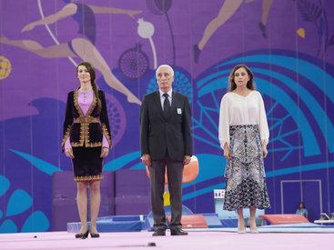 Первая леди Мехрибан Алиева вручила медали победителям мужских соревнований по спортивной гимнастике - ОБНОВЛЕНО - ФОТО