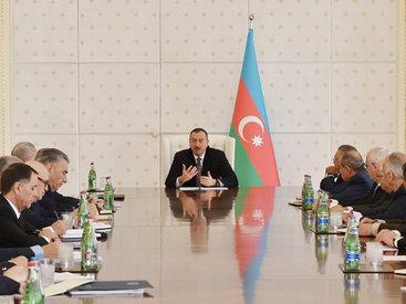 """Президент Ильхам Алиев: """"Отныне общее развитие Азербайджана больше будет зависеть от развития предпринимательства"""""""