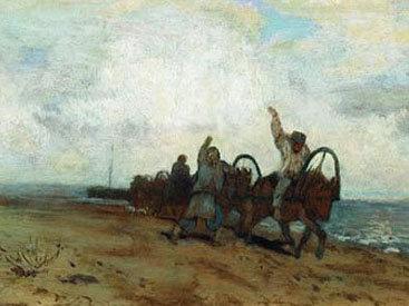 В России похищена картина Левитана