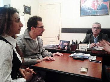 Директор ТЮЗа встретился с режиссером из Великобритании