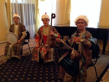 Азербайджанский мугам прозвучал в Москве – ФОТО