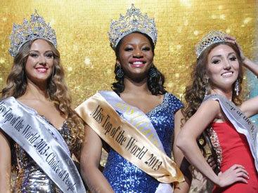 """Оксана Рзаева удостоена звания """"Мисс Элегантность"""" на """"Miss Top of the World-2013"""""""