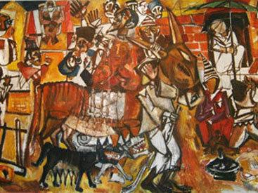 В Баку открылась выставка работ Гаджимирзы Фарзалиева - ФОТО