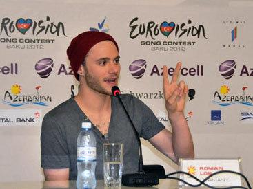 """Представитель Германии на """"Евровидении"""" рассказал о впечатлениях от Баку - ФОТО"""