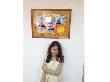 В Лувре представят работу юной азербайджанской художницы
