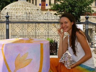 """Украинский художник: """"В Азербайджан невозможно не влюбиться"""""""