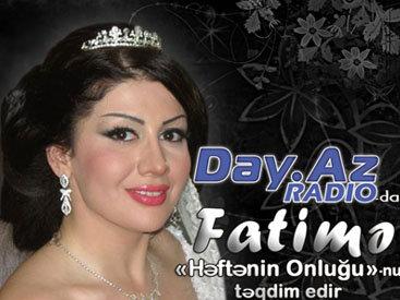 Танцовщица Фатима представляет хит парад на Day.Az Radio