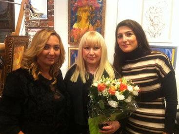Нигяр Нариманбекова представила Азербайджан во Франции - ФОТО