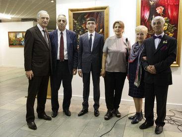 Юбилейная выставка азербайджанского художника в Москве - ФОТО