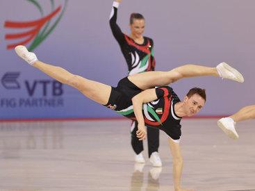 Евроигры в Баку: Разыграны медали в прыжках на батуте и аэробике - ОБНОВЛЕНО