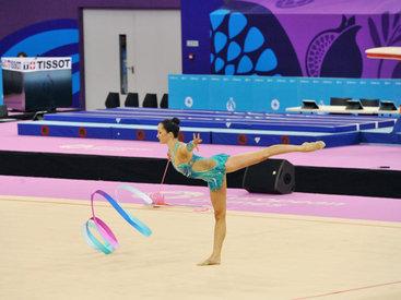 Азербайджанская гимнастка поборется за медали в финальных этапах Европейских игр - ОБНОВЛЕНО - ФОТО