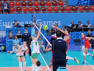 Восьмой день Евроигр: проходят волейбольные матчи между женскими сборными - ОБНОВЛЕНО