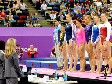 Захватывающий финал индивидуального многоборья по спортивной гимнастике - ФОТО