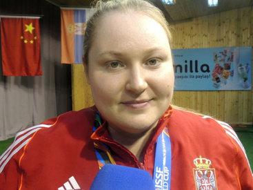 Сербская спортсменка: Габала запомнится мне навсегда