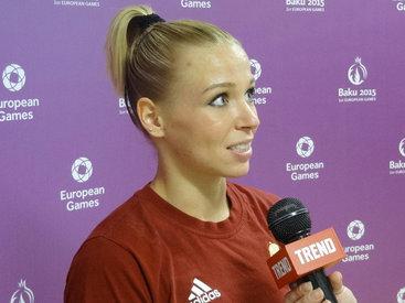 Венгерская гимнастка о значимости Евроигр для мирового спорта