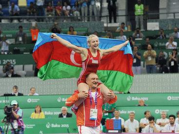 Азербайджан завоевал седьмое золото Евроигр – ОБНОВЛЕНО - ФОТО - ВИДЕО