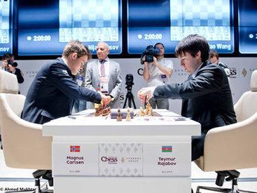 """9-й день международного шахматного турнира """"Shamkir Chess 2014"""" - ФОТО"""