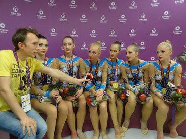 Гимнастка Анастасия Максимова восхищена Евроиграми в Баку - ФОТО