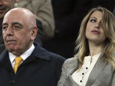 """Берлускони дал дочери должность в """"Милане"""""""