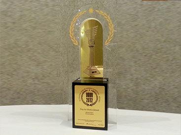 Медиа-компании Day.Az вручена национальная премия UĞUR - ФОТО