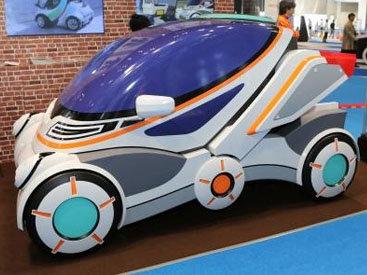 На автошоу в Токио показали складывающийся автомобиль