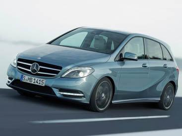 "Mercedes-Benz B-Class 2012 – обновление компактного класса ""B"" от Мерседес - ФОТОСЕССИЯ"