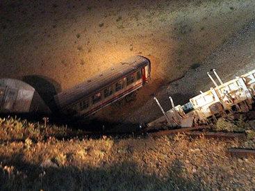 В Грузии столкнулись поезда, есть пострадавшие