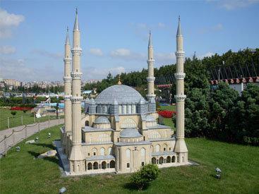 Парк Миниатюрк: Увидеть Турцию за один день - ФОТОСЕССИЯ