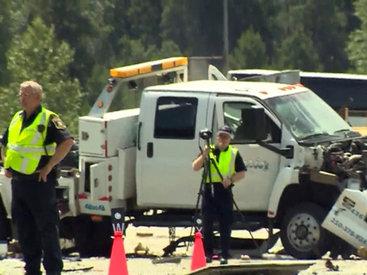 Тяжелое ДТП в Канаде: 35 пострадавших - ОБНОВЛЕНО - ФОТО