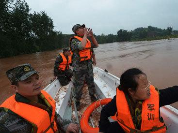От наводнений в Китае пострадали 666 тысяч человек