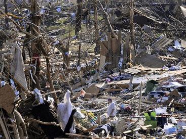 Торнадо разрушил бразильский город