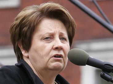 Премьер Латвии отказалась от интервью на русском