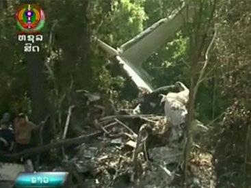 В крушении самолета в Лаосе выжила только медсестра