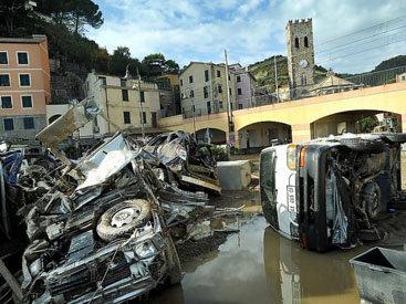 Сильное наводнение в Италии затопило города: есть жертвы
