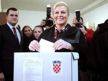 Впервые в истории Хорватию возглавит женщина