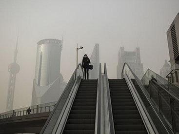 Китайские города во власти густого смога - ФОТО