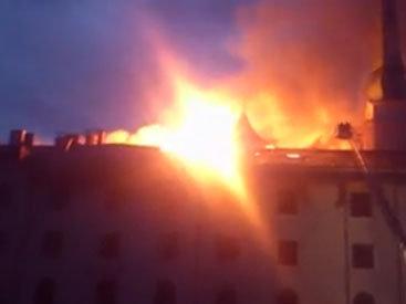 В резиденции президента Латвии произошел пожар - ОБНОВЛЕНО