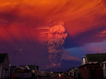 Новая тревога в Чили, вулкан покрывает страну пеплом - ФОТО