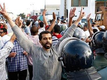 Ливанцы протестуют