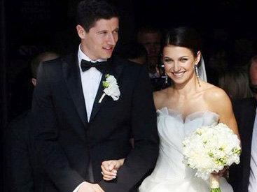 Роберт левандовски с невестой
