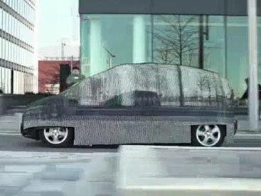 """""""Mercedes"""" показал автомобиль-невидимку - ВИДЕО"""