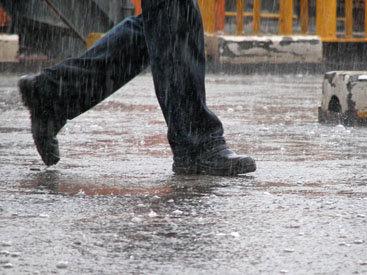 Жильцы возмущены. Дождевые воды топят их двор